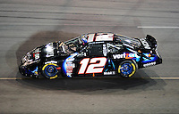 May 1, 2009; Richmond, VA, USA; NASCAR Nationwide Series driver Justin Allgaier during the Lipton Tea 250 at the Richmond International Raceway. Mandatory Credit: Mark J. Rebilas-