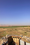 Israel, Beth Shean Valley, a view from Tel Shalem in Kibbutz Tirat Zvi