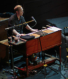 Todd Caldwell on the Hammond B-3 organ with Crosby, Stills & Nash at the Olympia in Paris, France.