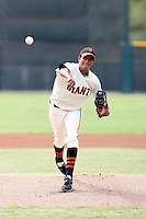 Armando Paniagua - San Francisco Giants - 2010 Instructional League.Photo by:  Bill Mitchell/Four Seam Images..