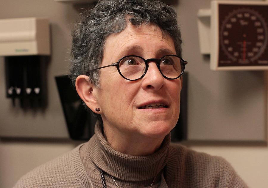 Dr. Joanne Kurtzberg, is treating Sandra Massart, 10, for MLD, a degenerative condition, at Duke University Hospital in Durham, NC, USA, on Tuesday, Feb. 14, 2012.  Photo by Ted Richardson
