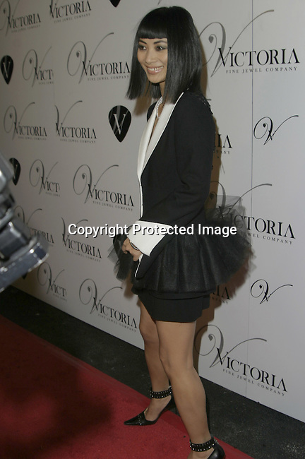 Bai Ling<br />Grand opening of Victoria Jewels<br />Victoria Jewels<br />Beverly Hills, CA, USA <br />Thursday, December 11, 2003 <br />Photo By Celebrityvibe.com /Photovibe.com