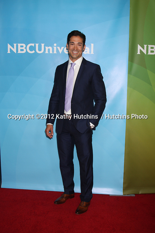 LOS ANGELES - JUL 24:  Ben Patton arrives at the NBC TCA Summer 2012 Press Tour at Beverly Hilton Hotel on July 24, 2012 in Beverly Hills, CA