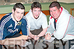 Taking part in the Table quiz in Brendan Purcell's bar Ballyduff on Friday night were, Martin O'Mahoney, Lisselton, Brendan Purcell, Ballyduff, and Micheal Moran Lisselton..   Copyright Kerry's Eye 2008