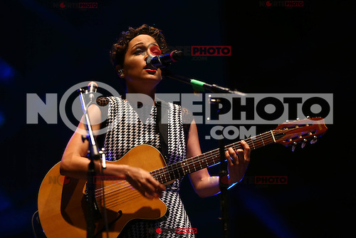 Maria Natalia Lafourcade Silva, better known as Natalia Lafourcade is a singer, songwriter and record producer, here during his concert at the Festival of Pitic in HermosilloSonora on 04/28/2015.<br /> <br /> CreditoFOTO: LuisGutierres/NortePhoto.com