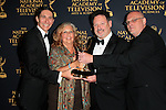 LOS ANGELES - APR 24: Mike Fiamingo, Judie Henninger, Joseph Lumer, Christopher Lewis at The 42nd Daytime Creative Arts Emmy Awards Gala at the Universal Hilton Hotel on April 24, 2015 in Los Angeles, California