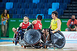 Rio Paralympic Games 2016. Day 7 Wheelchair Rugby, Australia vs Great Britain 53-51