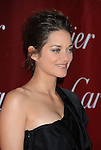 PALM SPRINGS, CA. - January 05: Marion Cotillard arrives at the 2010 Palm Springs International Film Festival gala held at the Palm Springs Convention Center on January 5, 2010 in Palm Springs, California.