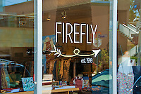 Firefly, bright, fun, unique, store, art books, local designers clothing,  handbags, jewelry, goodies, Abbot Kinney, Venice; California