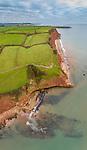 Jurassic Coastline, Exmouth, Devon, England