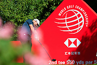 Adam Bland (AUS) on the 2nd tee during the final round at the WGC HSBC Champions 2018, Sheshan Golf CLub, Shanghai, China. 28/10/2018.<br /> Picture Fran Caffrey / Golffile.ie<br /> <br /> All photo usage must carry mandatory copyright credit (&copy; Golffile | Fran Caffrey)