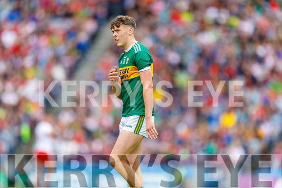 David Clifford, Kerry during the All Ireland Senior Football Semi Final between Kerry and Tyrone at Croke Park, Dublin on Sunday.