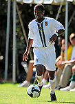 1 September 2009: University of Vermont Catamount midfielder Dwayne Dove, a Freshman from Turnersville, NJ, in action against the Siena College Saints at Centennial Field in Burlington, Vermont. The Saints edged out the Catamounts 1-0. Mandatory Photo Credit: Ed Wolfstein Photo