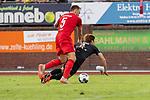 20.07.2019, Heinz Detmar Stadion, Lohne, Interwetten Cup 1. FC Köln vs SV Werder Bremen<br /> <br /> im Bild / picture shows <br /> Rafael Czichos (Neuzugang Koeln #05)<br />  fouluz Yuya Osako (Werder Bremen #08)<br /> <br /> Foto © nordphoto / Kokenge