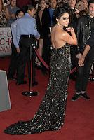 LOS ANGELES, CA - JANUARY 11: Vanessa Hudgens arrives at the People's Choice Awards 2012 at Nokia Theatre LA Live on January 11, 2012 in Los Angeles, California.