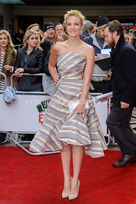 WWW.ACEPIXS.COM<br /> <br /> March 29 2015, London<br /> <br /> Joanna Vanderham arriving at the Jameson Empire Awards at the Grosvenor Hotel on March 29 2015 in London.<br /> <br /> By Line: Famous/ACE Pictures<br /> <br /> <br /> ACE Pictures, Inc.<br /> tel: 646 769 0430<br /> Email: info@acepixs.com<br /> www.acepixs.com