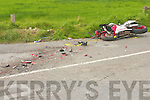 ANOTHER KERRY FAMILY is mourning the death.of a loved one this week following the death of.Lixnaw motorcyclist James Griffin in a horrific.crash on the outskirts of Duagh on Sunday.