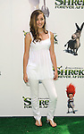 "UNIVERSAL CITY, CA. - May 16: Rachel G. Fox arrives at the ""Shrek Forever After"" Los Angeles Premiere at Gibson Amphitheatre on May 16, 2010 in Universal City, California."