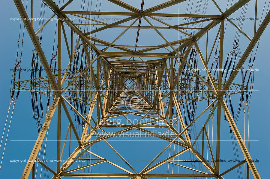 """Europa Deutschland DEU Hochspannungsleitung in Hamburg am Kraftwerk Moorburg<br />  -  Energie   <br /> Europe Germany GER , high voltage steel tower for power supply in Hamburg <br />   -  energy <br />   [ copyright (c) Joerg Boethling / agenda , Veroeffentlichung nur gegen Honorar und Belegexemplar an / publication only with royalties and copy to:  agenda PG   Rothestr. 66   Germany D-22765 Hamburg   ph. ++49 40 391 907 14   e-mail: boethling@agenda-fototext.de   www.agenda-fototext.de   Bank: Hamburger Sparkasse  BLZ 200 505 50  Kto. 1281 120 178   IBAN: DE96 2005 0550 1281 1201 78   BIC: """"HASPDEHH"""" ,  WEITERE MOTIVE ZU DIESEM THEMA SIND VORHANDEN!! MORE PICTURES ON THIS SUBJECT AVAILABLE!! ] [#0,26,121#]"""