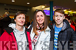 London bound from Kerry Airport on Friday evening last are, l to r, Eimer Lardner (Tralee), Siobhan Kearney (Tralee) and Oisin Murray (Tralee) with the Tralee Parkrun.