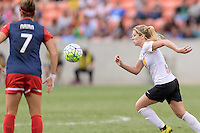 Houston, TX - Sunday Oct. 09, 2016: McCall Zerboni during the National Women's Soccer League (NWSL) Championship match between the Washington Spirit and the Western New York Flash at BBVA Compass Stadium. The Western New York Flash win 3-2 on penalty kicks after playing to a 2-2 tie.