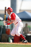 February 21, 2009:  Third baseman Greg Hopkins (11) of St. John's University during the Big East-Big Ten Challenge at Jack Russell Stadium in Clearwater, FL.  Photo by:  Mike Janes/Four Seam Images