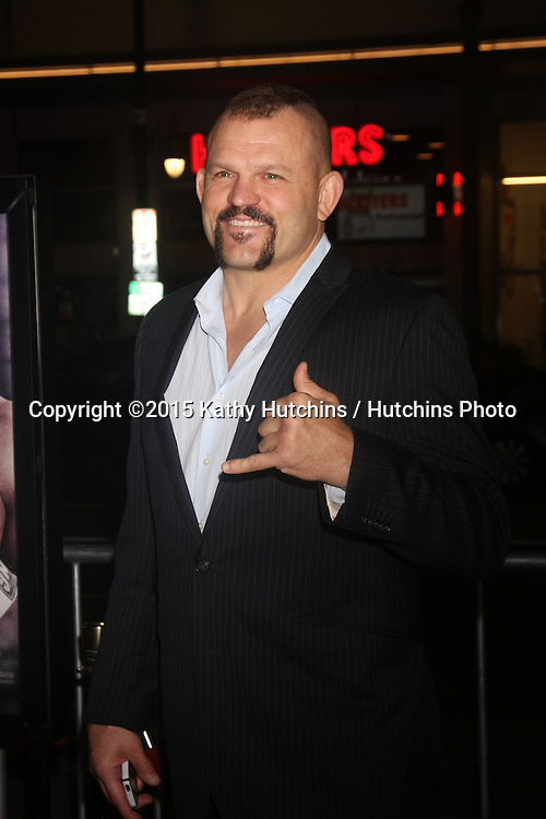 """LOS ANGELES - JAN 20:  Chuck Liddell at the """"Manny"""" Los Angeles Premiere at a TCL Chinese Theater on January 20, 2015 in Los Angeles, CA"""