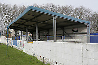 Covered terracing during Barking vs South Park, BetVictor League South Central Division Football at Mayesbrook Park on 7th March 2020