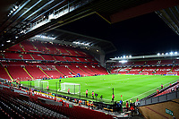 A general view of Anfield, home of Liverpool<br /> <br /> Photographer Richard Martin-Roberts/CameraSport<br /> <br /> UEFA Champions League Group C - Liverpool v Crvena Zvezda - Wednesday 24th October 2018 - Anfield - Liverpool<br />  <br /> World Copyright © 2018 CameraSport. All rights reserved. 43 Linden Ave. Countesthorpe. Leicester. England. LE8 5PG - Tel: +44 (0) 116 277 4147 - admin@camerasport.com - www.camerasport.com