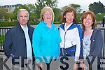HOSPICE: Enjoying the Kerry Hospice Foundation Good Friday Walk at the Brandon hotel, Tralee on Friday l-r: Jerry Lee, Pat Turner, Eileen O'Shea and Kay Hayes all from Tralee.
