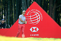 Jorge Campillo (ESP) on the 17th tee during the 3rd round at the WGC HSBC Champions 2018, Sheshan Golf CLub, Shanghai, China. 27/10/2018.<br /> Picture Fran Caffrey / Golffile.ie<br /> <br /> All photo usage must carry mandatory copyright credit (&copy; Golffile | Fran Caffrey)