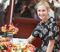 August 17, 2012 Kelly Rutherford shooting on location for Gossip Girl in New York City. &copy; RW/MediaPunch Inc. /NortePhoto.com<br />