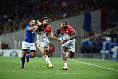 12.11.2016. Stadium Toulouse, Toulouse, France. Autumn International rugby match, France versus Samoa.  Virmi Vakatawa (fr)