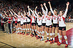 2014 NCAA Volleyball: Illinois State at Wisconsin