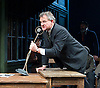 An Enemy of the People <br /> by Henrik Ibsen <br /> a version by Christopher Hampton <br /> at Chichester Festival Theatre, Chichester, West Sussex, Great Britain <br /> Press photocell <br /> 29th April 2016 <br /> <br /> Hugh Bonneville as Dr Tomas Stockmann <br /> <br /> <br /> Photograph by Elliott Franks <br /> Image licensed to Elliott Franks Photography Services