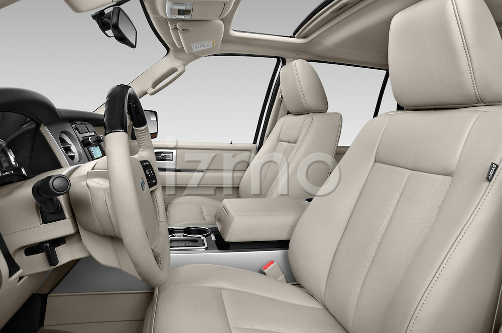 Front seat view of a 2014 Ford Expedition Limited EL 5 Door SUV Front Seat car photos