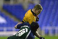 © Peter Spurrier/Intersport Images .Tel + 44 1494 783165 email images@Intersport-images.com.co.uk.04/01/2004 - Photo  Peter Spurrier.2003/04 Zurich Rugby Premiership London Irish v Northampton.Darren Fox.