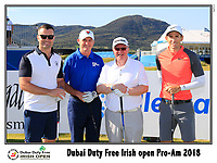 Dylan Frittelli (RSA) team on the 10th tee during Wednesday's Pro-Am of the 2018 Dubai Duty Free Irish Open, held at Ballyliffin Golf Club, Ireland. 4th July 2018.<br /> Picture: Eoin Clarke | Golffile<br /> <br /> <br /> All photos usage must carry mandatory copyright credit (&copy; Golffile | Eoin Clarke)