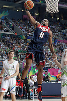 USA's DeMar Derozan during 2014 FIBA Basketball World Cup Quarter-Finals match.September 9,2014.(ALTERPHOTOS/Acero)
