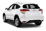 Car pictures of rear three quarter view of 2016 Honda HRV Executive 5 Door Suv Angular Rear