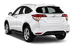 Car pictures of rear three quarter view of 2016 Honda HRV Executive 5 Door Suv Angular Rear
