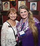 Diane Earl and Bonnie Comley attend the UMass Lowel Cockail Party for 'Sunset Boulevard' hosted by Chancellor Jacquie Moloney, Bonnie Comley and Stewart F. Lane at Sardi's on April 5, 2017 in New York City