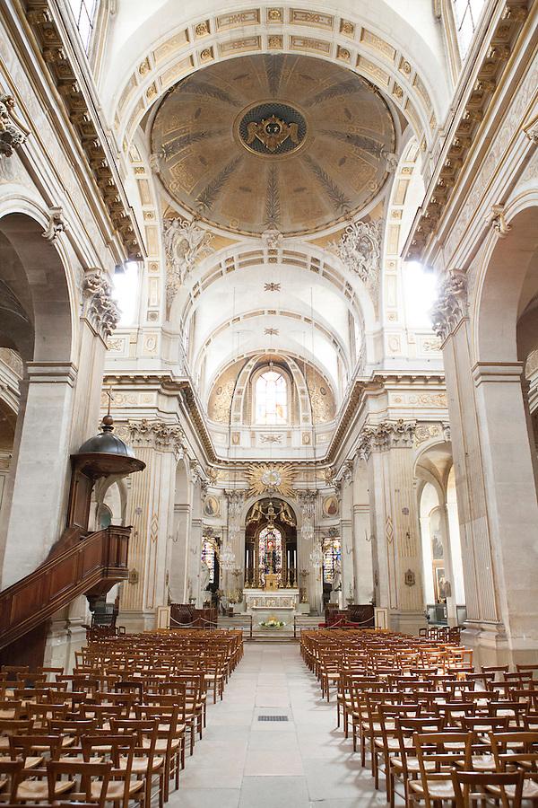 Saint Louis en L'Ile Church, Rue Saint-Louis en L'ile, Ile de la Cite, Paris, France