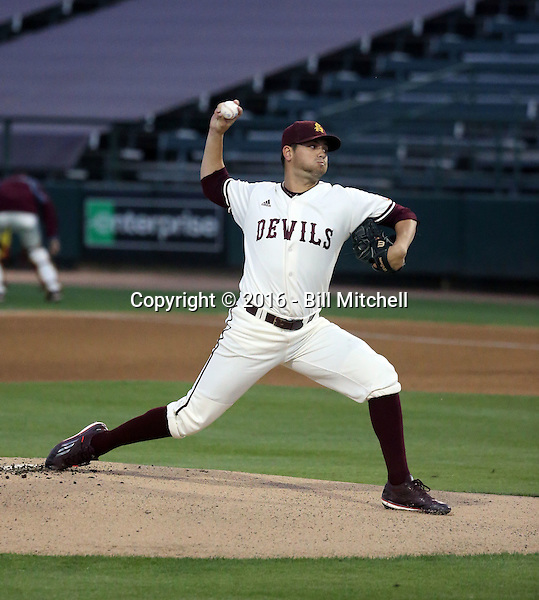 Seth Martinez - 2016 Arizona State Sun Devils (Bill Mitchell)