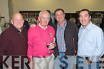 Joe Hanley, Kevin Coleman, Don McMonagle and Brendan Moran pictured at the launch of the book Eyewitness and the website the kennelllyarchive.com in the library of the IT Tralee north campus on Thursday.