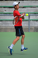Thomas Dai. 2017 Wellington Open tennis championship at Renouf Tennis Centre in Wellington, New Zealand on Tuesday, 19 December 2017. Photo: Dave Lintott / lintottphoto.co.nz