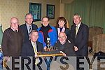 OPENGATE: Lyreacrompane who were 2008 winners of the Open gate Award on Monday night in the Brandon Hotel, Tralee, Front l-r: Charlie O'Sullivan (Director of Roads and Transport Kerry County Council and Larry Long (Lyreacrompane) Back l-r: Jimmy Leahy (NKW), Michael Lonegan ( NKW), Michael Naughton (Lyreacrompane), Helen Fitzgibbon (NKW) and Ogie Moranhannon Development)..   Copyright Kerry's Eye 2008