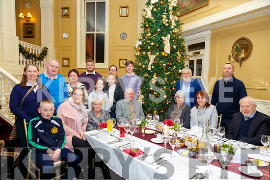 Special Birthday: Maureen Enright, Tarbert, seated third from left  celebrating a special birthday with family & friends at the Listowel Arms Hotel on Saturday night last.