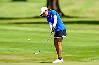Silvia Brunotti of NorthHarbour chips in to win her match Toro New Zealand Womens Interprovincial Tournament, Waitikiri Golf Club, Christchurch, New Zealand, 4th December 2018. Photo:John Davidson/www.bwmedia.co.nz