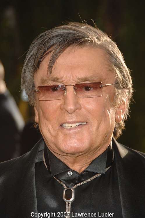 Robert Evans attends the 2007 Vanity Fair Oscar Party held at Morton's Steakhouse in Los Angeles, CA, USA on February 25, 2007... (Pictured : ROBERT EVANS).